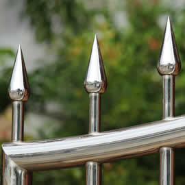 Bespoke Stainless Steel fence