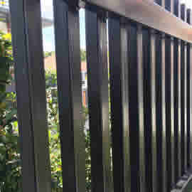 Metal Partition Fence