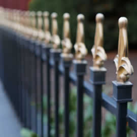 Caste Iron Railings