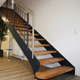 Metal and Wooden Stairs London